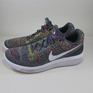 Nike Lunarepic Low Flyknit 2 Running Trainer Shoe